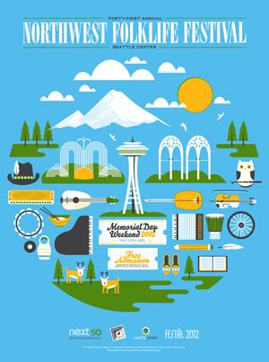 Folklife Festival 2012 Poster